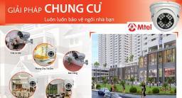 Giải pháp lắp đặt camera quan sát cho chung cư