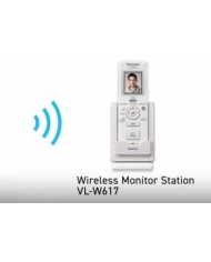 Bộ tay cầm chuông cửa không dây Panasonic VL-W617VN